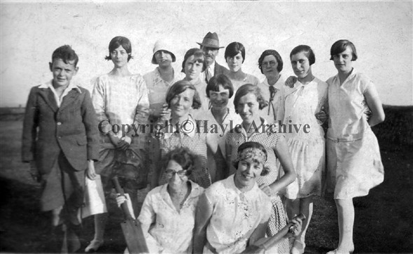 Image: Ladies team in the 1930's
