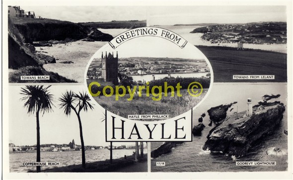 Image: Postcard of Hayle