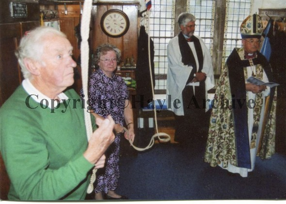 Image: New bells at St Erth Church