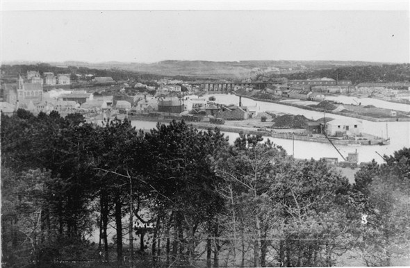 Image: View over Foundry in the early 20th centary.