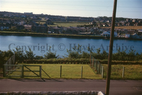 Image: A view from Clifton Terrace 1965