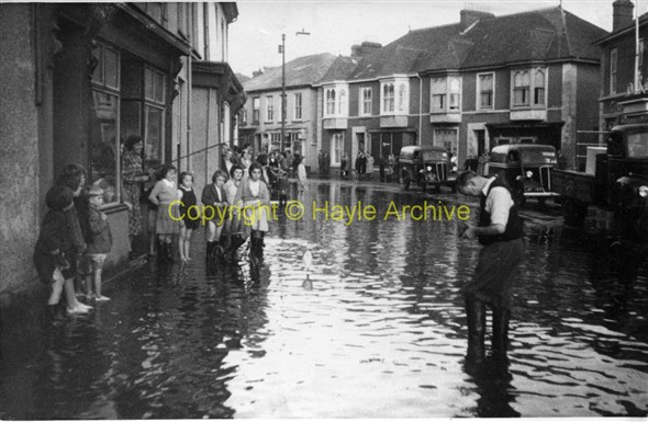 Image: Copperhouse flood 1960